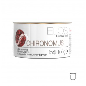 ELOS SV CHIRONOMUS - 100g - Blood Worms