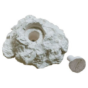 Frag rock with space for 1 plug (Included)