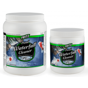 Fritz Pond Waterfall Cleaner
