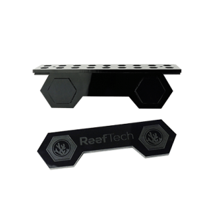 Gravity Frag Rack with Silicone gripping mechanism - upto 15mm glass. 18 Holes