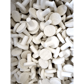 White Frag Plug L-30mm (500pk Shop Use)