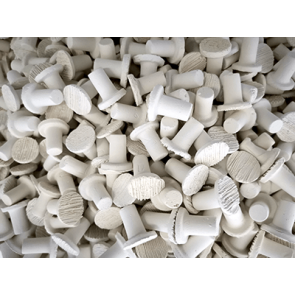 White Frag Plug M-20mm (500pk Shop Use)
