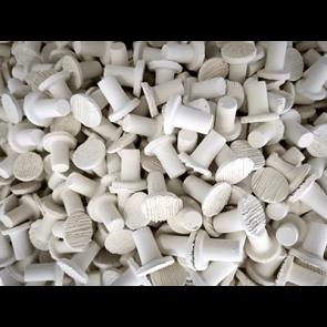 White Frag Plug M-20mm (100pk)