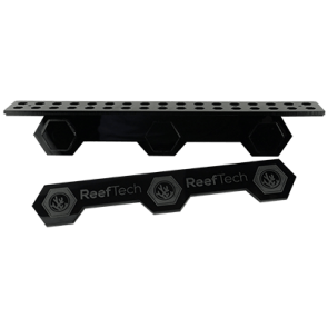 Gravity Frag Rack XL with Silicone gripping mechanism - upto 15mm glass. 34 Holes